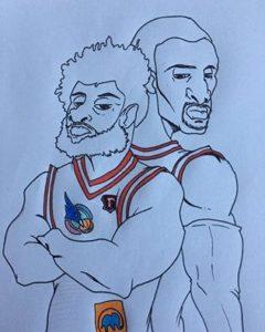La vignetta di M-Ink per Charles Hankerson Jr e Jevoni Robinson