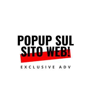 Popup sul sito web